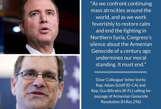 Adam Schiff and Gus Bilirakis call for passage of Armenian Genocide resolution