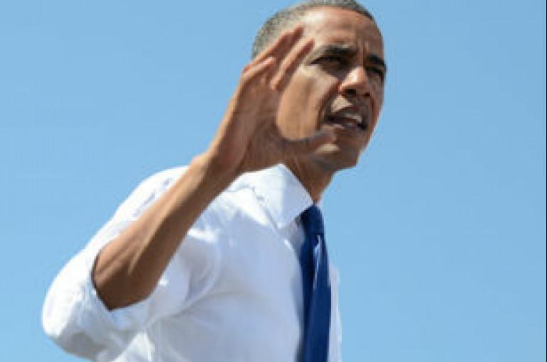 Obama plane aborts landing due to bad weather - Armenian