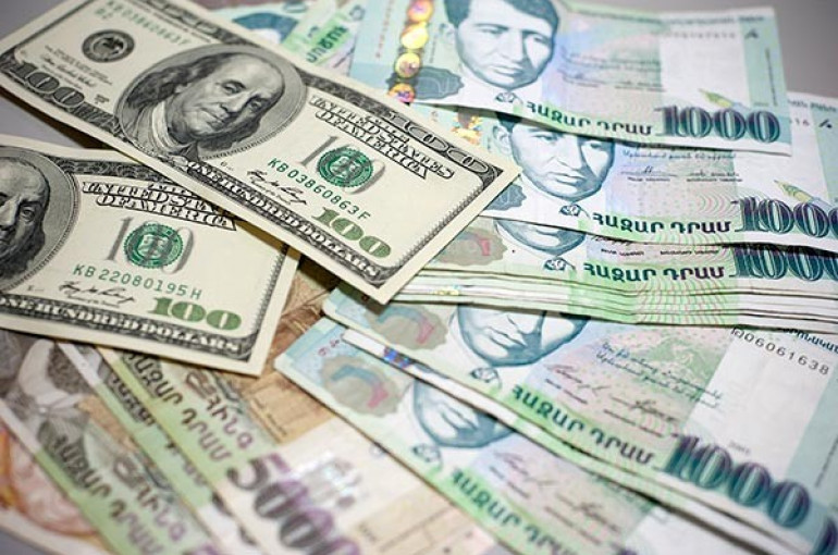 Average Usd Amd Exchange Rate 1 465 19 At Armenian Banks
