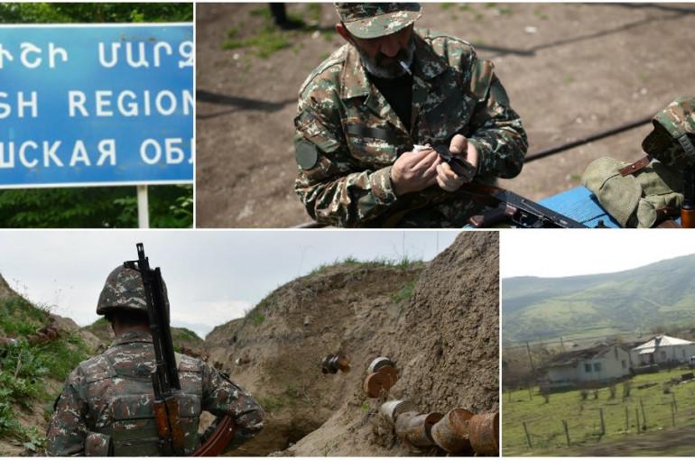 Image result for нарушения на армяно-азербайджан границе тавуш