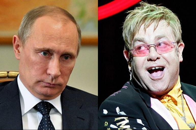 ՌԴ-ում շատ հավասար և հանգիստ մոտեցում կա ԼԳԲՏ համայնքի նկատմամբ.Էլթոն Ջոնը Պուտինին երկերեսանիության մեջ է մեղադրել