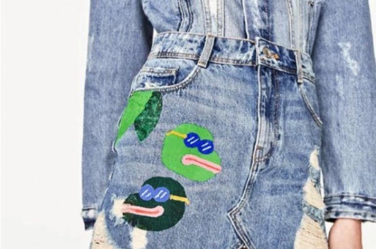 Zara оскандалилась свастикой картинки
