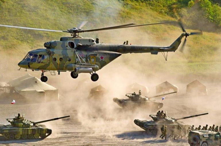 военные учения России и Армении