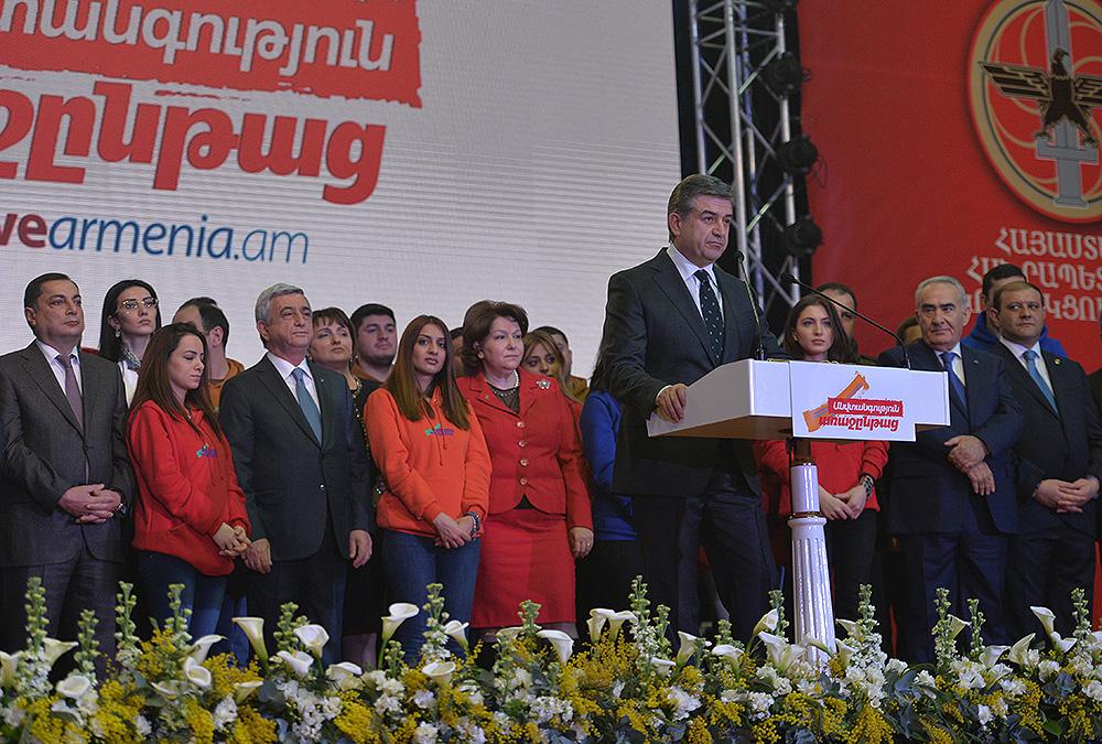 «Грапарак»: Предвыборная команда РПА направится 22 марта в Арарат, а 29 марта – в Котайк