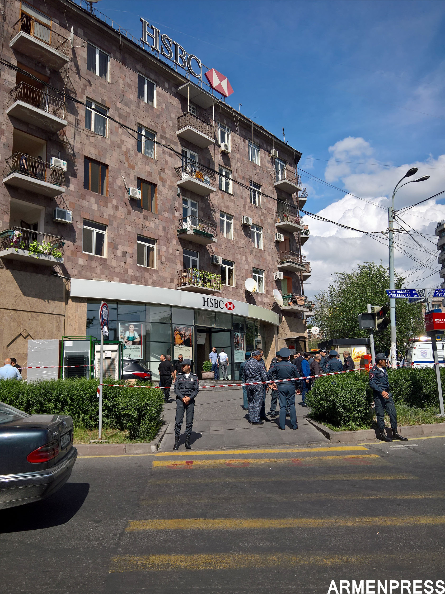 Policeman reported dead in HSBC Bank robbery attack (updated