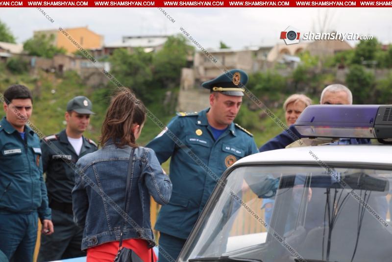 Դավիթաշենի կամրջից քաղաքացին փորձել է ինքնասպան լինել (լուսանկարներ)