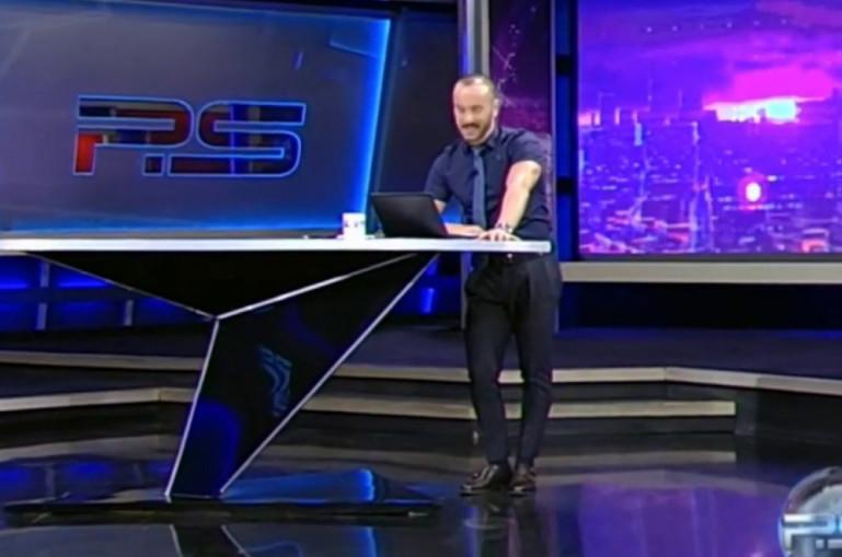 Տեսանյութ. Վրացի հաղորդավարը եթերում հայհոյանքներ է տեղացել Պուտինի հասցեին. նրա ելույթը հանգեցրել է բողոքի ակցիայի