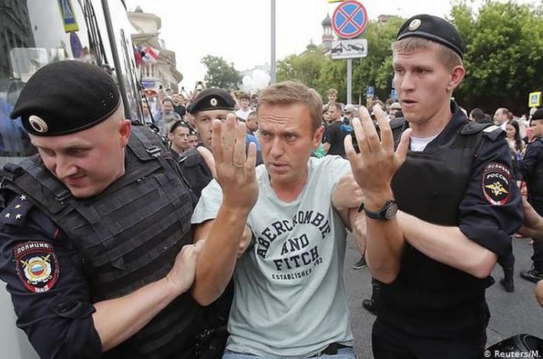 Մոսկվայում ակցիայի ընթացքում կալանավորվածների մեջ 22 հայ կա․ անունները հայտնի են
