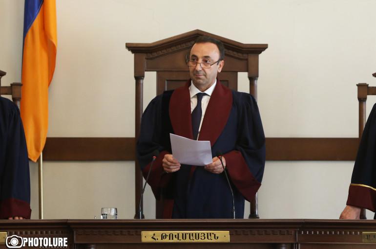 Конституционный суд Армении огласил решение по делу Кочаряна ...