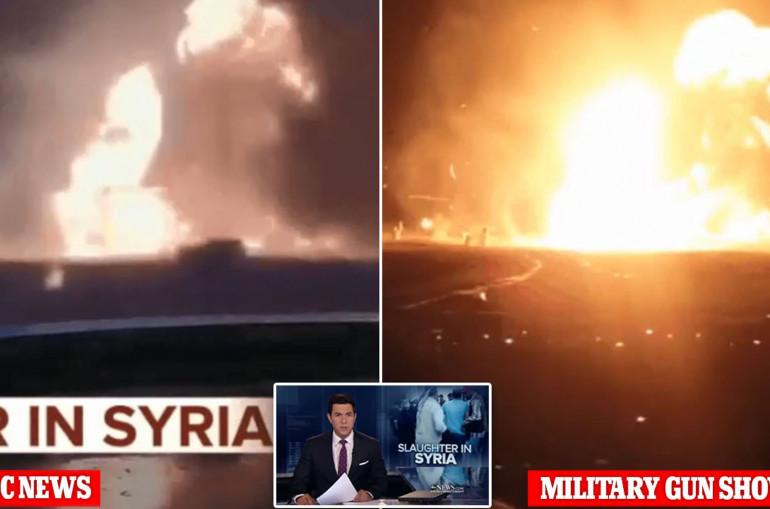 Տեսանյութ. Կեղծ տեսանյութ.Ամերիկյան հեռուստաալիքն ԱՄՆ-ի զորավարժությունները ներկայացրել է որպես Սիրիայում Թուրքիայի հարձակման կադրեր