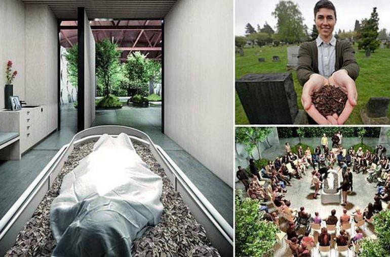 Վաշինգտոնում կբացվի աշխարհում առաջին այլընտրանքային «գերեզմանատունը», հանգուցյալի մարմինը փաթաթվելու է շնչող սավանով.ֆոտո