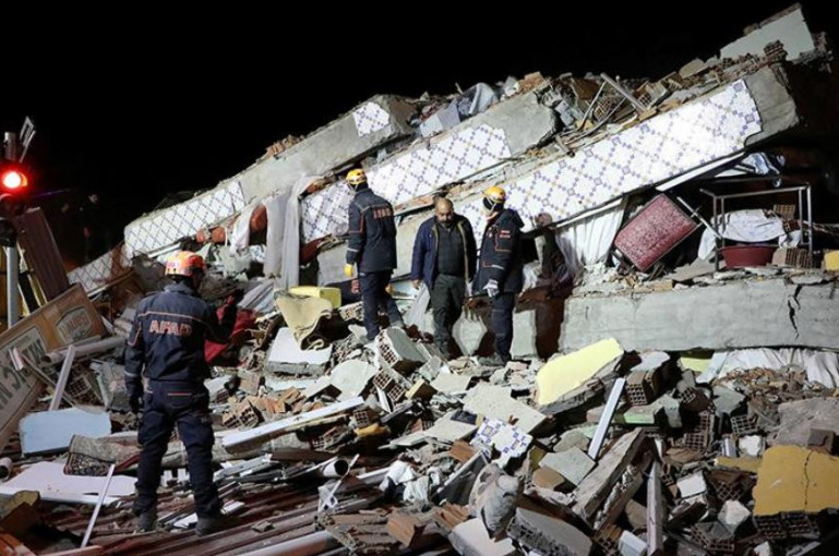 Տեսանյութ.  Թուրքիայում տեղի ունեցած հզոր երկրաշարժի զոհերի թիվը հասել է 20-ի