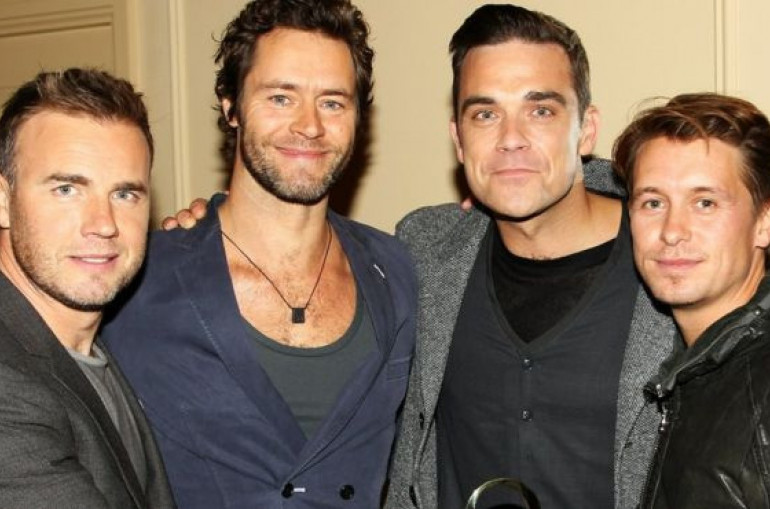Robbie Williams to rejoin Take That for virtual gig