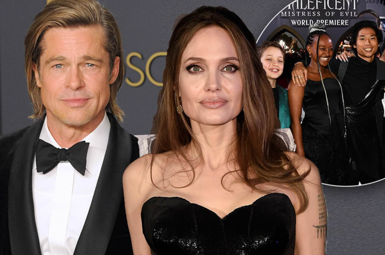 Jolie split from Pitt for her family's 'wellbeing'