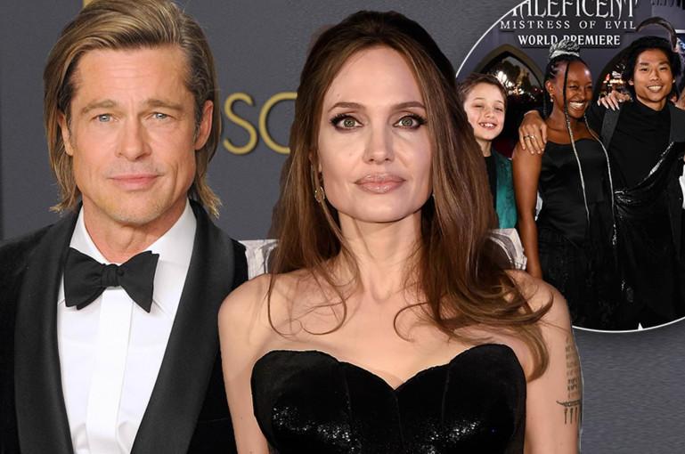 Jolie split from Pitt for her family's 'wellbeing'