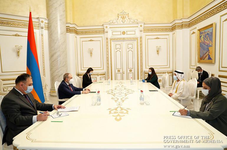 Հայաստանն ու ԱՄԷ-ն շահագրգռված են սերտ համագործակցությամբ. վարչապետը  հրաժեշտի հանդիպում է ունեցել ԱՄԷ դեսպանի հետ - Լուրեր Հայաստանից ...