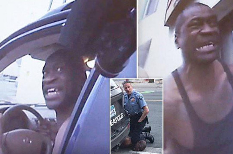 Տեսանյութ.«Խնդրում եմ, չկրակեք».ինչպես է  աֆրոամերիկացին՝Ֆլոյդը արտասվում ՝ խնդրելով չկրակել իր վրա
