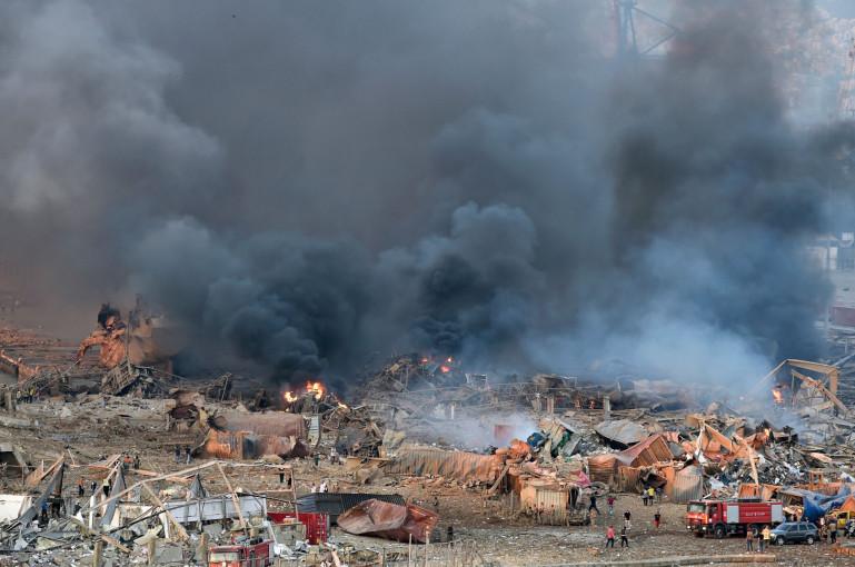 Բեյրութում պայթյունի հետեւանքով զոհերի թիվը հասել է 78-ի. վիրավորվել է մոտ 4000 մարդ