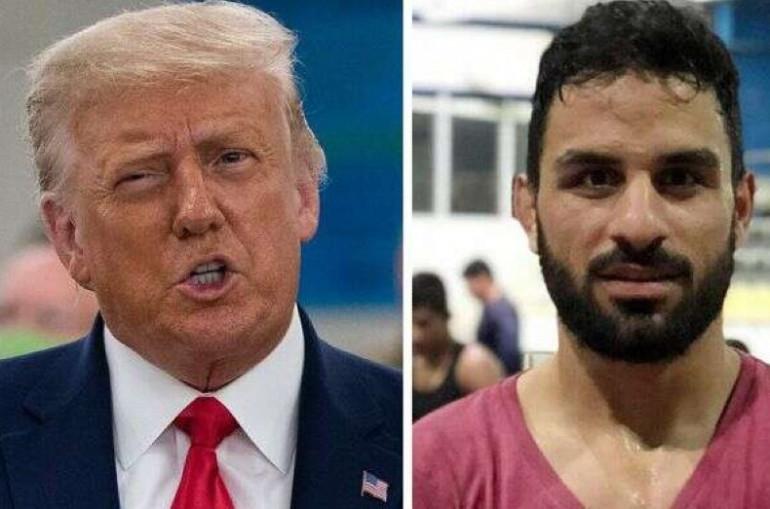 Երախտապարտ կլինեմ, եթե խնայեք երիտասարդի կյանքը. Թրամփն Իրանին կոչ է արել մահապատժի չենթարկել 27-ամյա հայտնի ըմբիշին