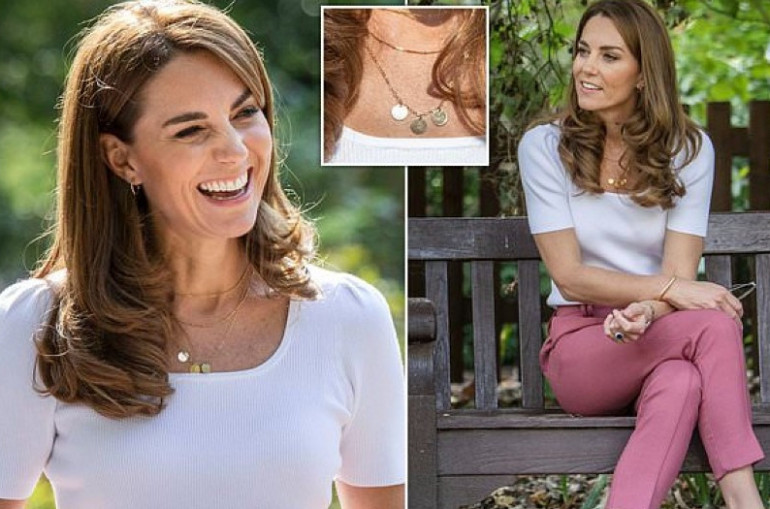 Kate Middleton Wore a Necklace With a Sweet Tribute to Her Kids