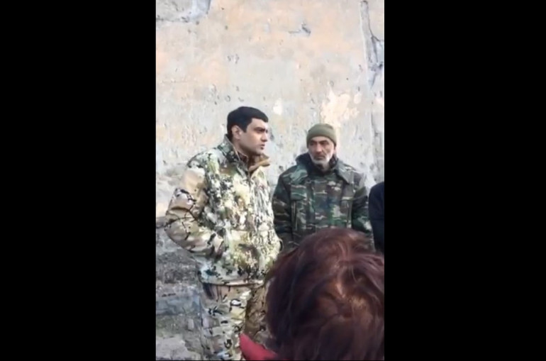 Տեսանյութ.Մեր ներքևի թաղն արդեն ադրբեջանական հող է, եթե հանկարծ անասուն էլ անցնի, հետևից գնալ չկա. Շուռնուխի գյուղապետ