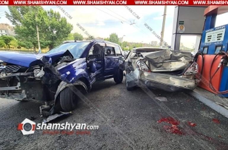 Ավտովթար-վրաերթ՝ Երևանում․ Nissan Xtrail-ը բախվել է բենզալցակայանում լիցքավորվող Nissan Teana-ին, ապա վրաերթի է ենթարկել 1 հոգու․ տուժածներից մեկը հիվանդանոցի ճանապարհին մահացել է