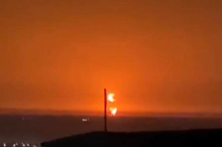 Կասպից ծովի ադրբեջանական հատվածում խոշոր հրդեհ է բռնկվել պայթյունից