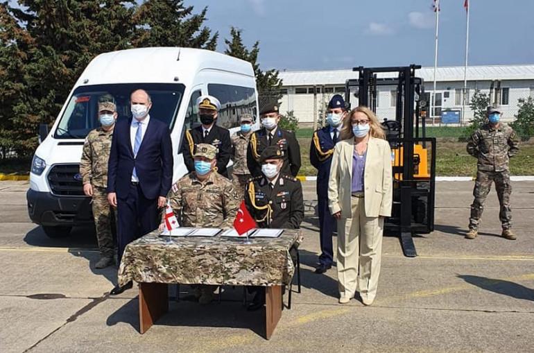Թուրքիան հատուկ տեխնիկա է հանձնել Վրաստանի ՊՆ-ին՝866 400 ԱՄՆ դոլար  արժողությամբ