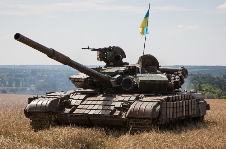 Ուկրաինայում  զորավարժությունների ժամանակ տանկը սխալմամբ գնդակոծել է գյուղը