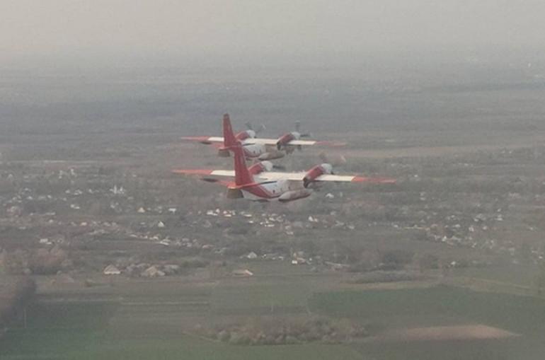 Կրակի մեջ է ամբողջ միջերկրածովյան ափը.Ուկրաինան, որպես օգնություն, հրշեջ ինքնաթիռներ է ուղարկել Թուրքիա՝ անտառային հրդեհները մարելու համար
