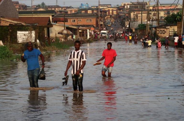 24 մլն բնակչություն ունեցող աֆրիկյան քաղաքը կարող է ջրի տակ հայտնվել,ջուրը ծածկում է կառույցները
