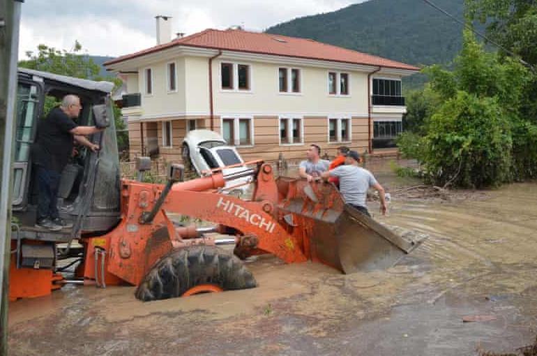 Տեսանյութ.Թուրքիայում կրկին ջրհեղեղներ են. կան զոհեր