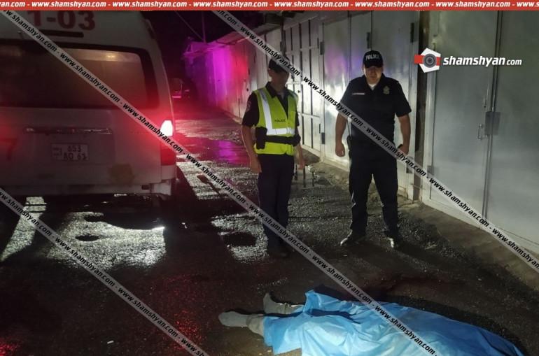 Երևանի շենքերից մեկի բակում հայտնաբերվել է 32-ամյա տղամարդու դի