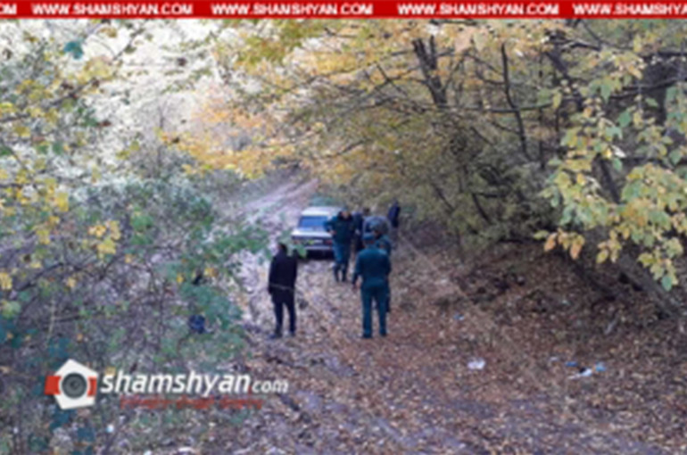 Սպանություն՝ Տավուշի մարզում. 3 օր որպես անհետ որոնվողի դին ու նրա ավտոմեքենան հայտնաբերվել է Վազաշեն գյուղի անտառում