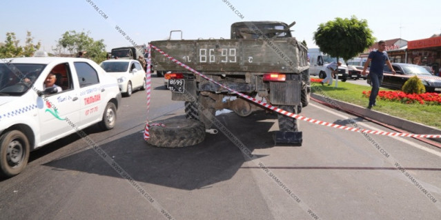 Զինվորական ավտոմեքենա է կողաշրջվել. Նոր մանրամասներ