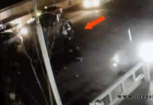 Ինչպես են ծեծում քաղաքացուն և մետաղյա ձողով վնասում նրա մեքենան. Տեսանյութ