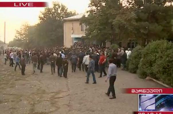 Վրաստանում ադրբեջանական գյուղ են ժամանել հատուկջոկատայիններ. քվեարկությունը դադարեցվել է
