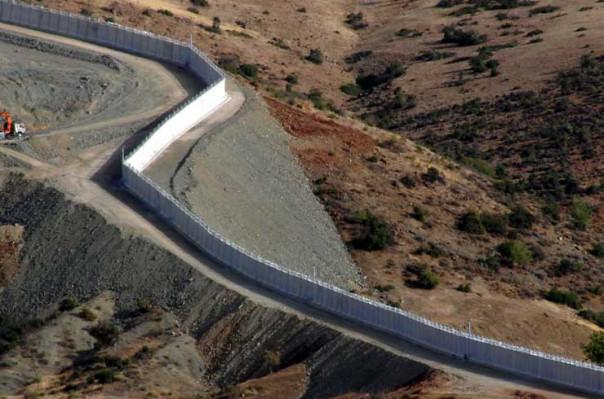 Թուրքիան ավարտել է Սիրիայի սահմանին պատի մի մասի կառուցումը. Lուսանկարներ