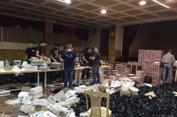 2728 հալեպահայ ստացել է Հայաստանից ուղարկված մարդասիրական օգնությունը. Լուսանկարներ