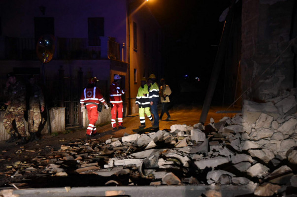 Իտալիայում երկրաշարժ է տեղի ունեցել