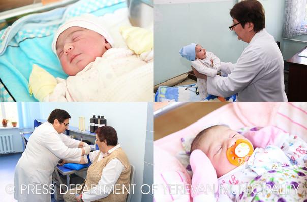 Հոկտեմբերի 21-27-ը մայրաքաղաքում ծնվել է 436 երեխա