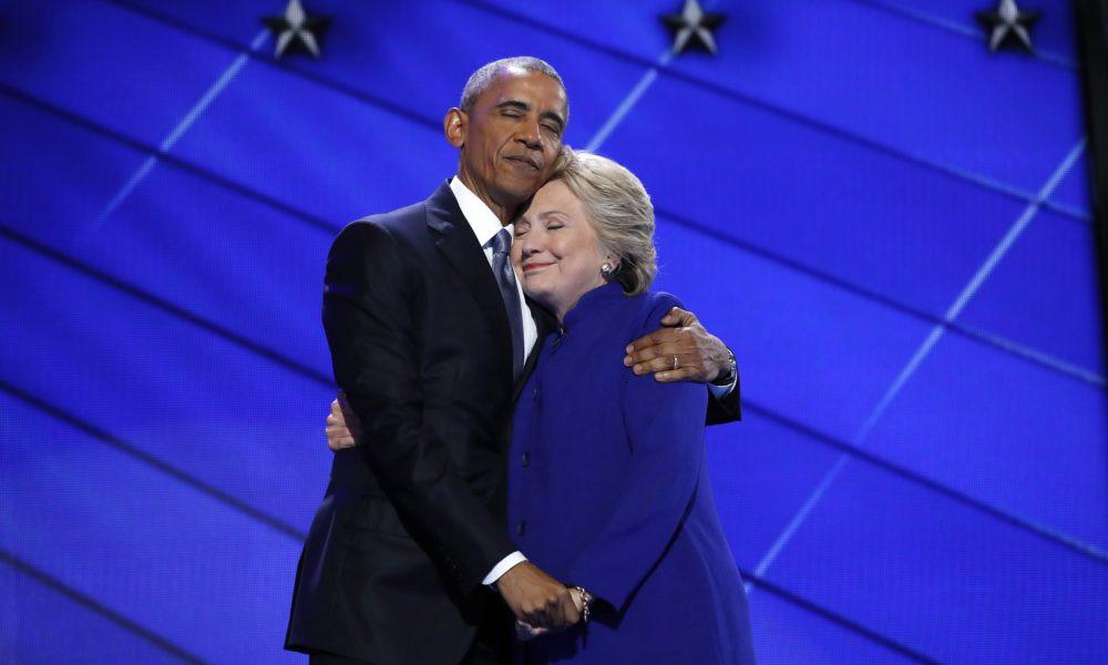 хиллари клинтон обама проголосовал