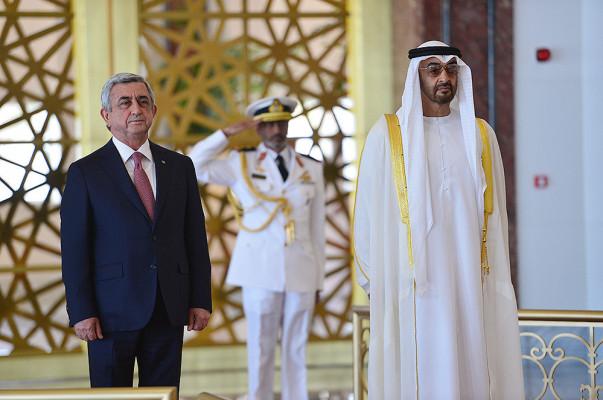 ОАЭ заинтересованы вреализации инвестиционнных программ вАрмении