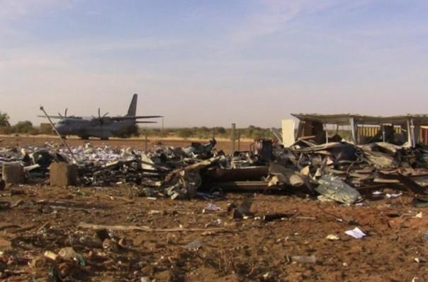 Մալիում ահաբեկչի ինքնապայթեցման հետևանքով ռուսական ուղղաթիռ է ոչնչացվել