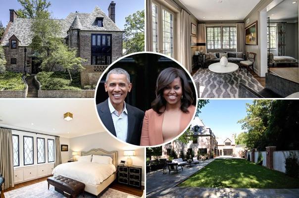 Օբամաների 5.3 մլն դոլարանոց առաձնատունը վերանորոգվում է նախագահի ընտանիքի նորամուտին ընդառաջ (լուսանկարներ)
