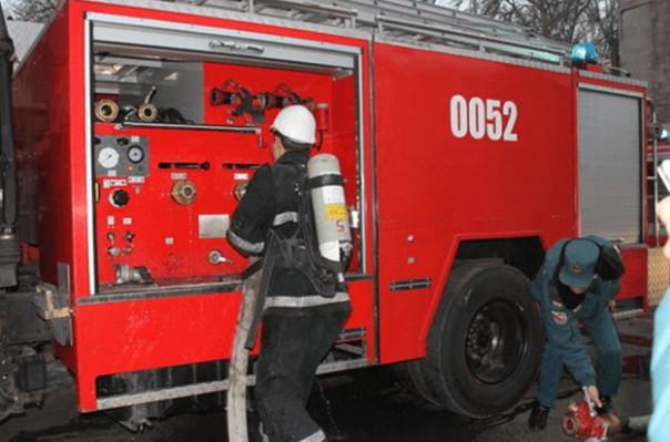 Դիլիջանում այրվել է ավտոտնակում կայանված «Mercedes C» մակնիշի ավտոմեքենան
