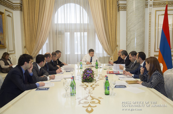 Գեղարքունիքի մարզից ստացված ներդրումային ծրագրերի փաթեթների քննարկում Կարեն Կարապետյանի մոտ