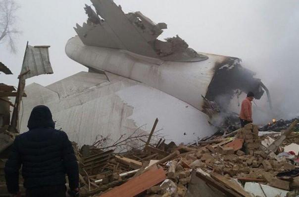 Բիշքեկի մերձակայքում օդանավ է կործանվել.կա ավելի քան 30 զոհ.Տեսանյութ