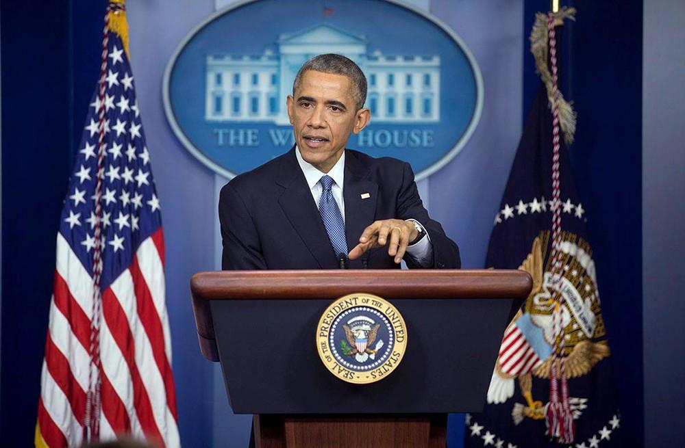 барак обама проводит последнюю посту президента сша пресс-конференцию