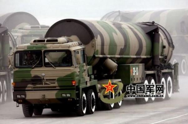 Китайская ракета Dongfeng-41